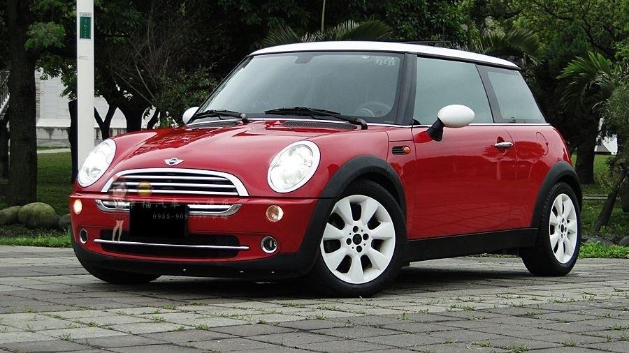 2005年 mini cooper 熱情紅 車況優 內裝極致漂亮