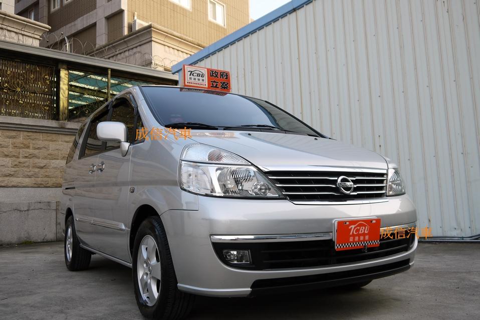 2008日產頂級旗艦7人座QRV休旅車整台原漆實跑8萬3免頭款還有找