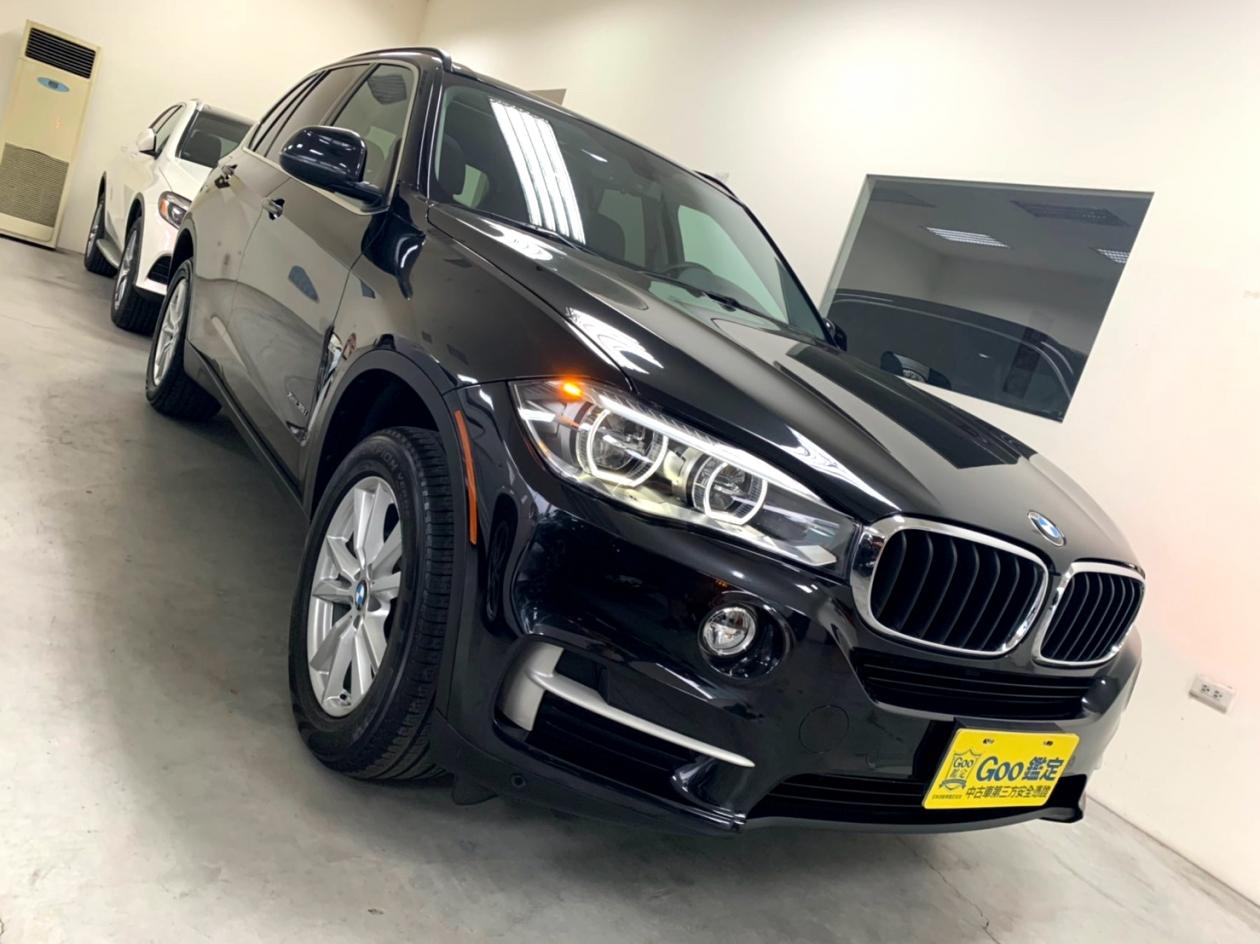 2015年 BMW X5 35i 全景天窗 LED頭燈 H/K音響 氣氛燈 未領牌 小滿配