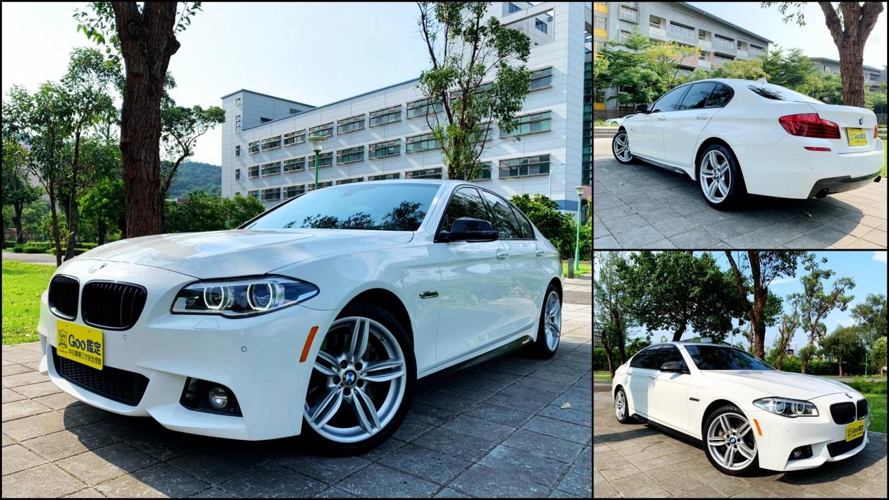 2014年式 BMW 535i 正M版 抬顯 電動腳踢尾門 LED頭燈 舒適跑車座椅 H/K 未領牌