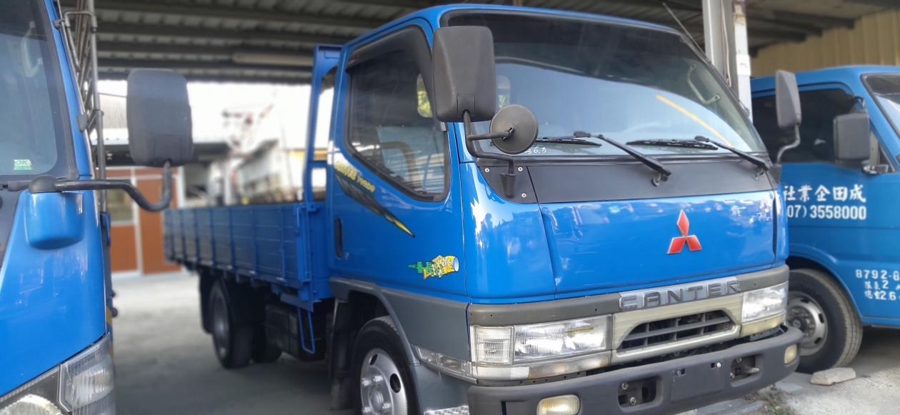 2004年  中華堅達 CANTER  11尺半 11.5尺 貨車