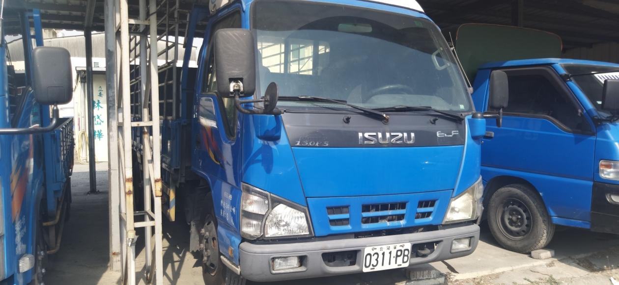 2006年 ISUZU ELF 一路發 14尺半 14.5尺 貨車 大片雙外芯升降尾門