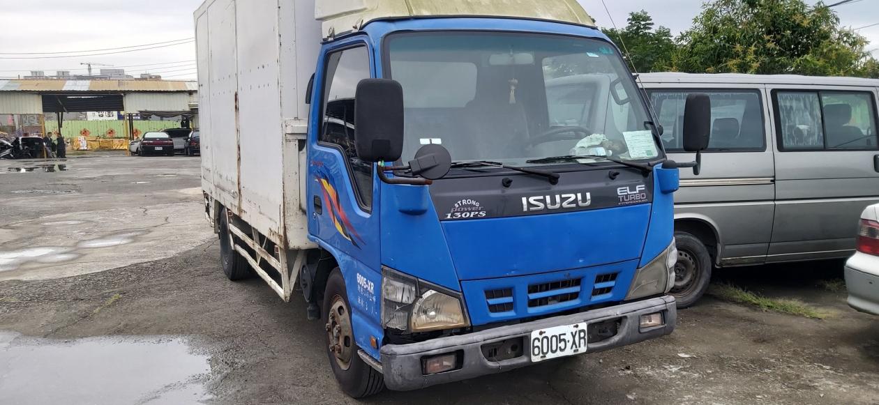 2006年 ISUZU ELF 一路發 14尺半 14.5尺 貨車 升降尾門