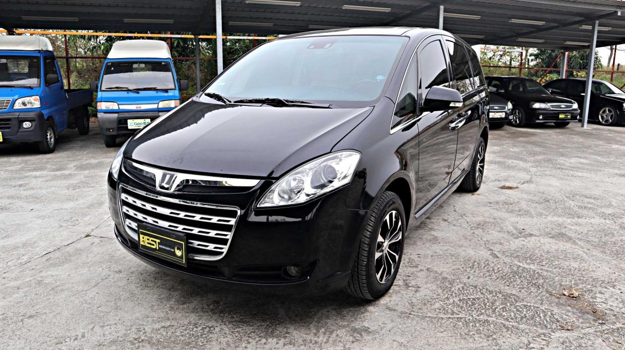 2009年 Luxgen M7 黑色 納智捷中古車