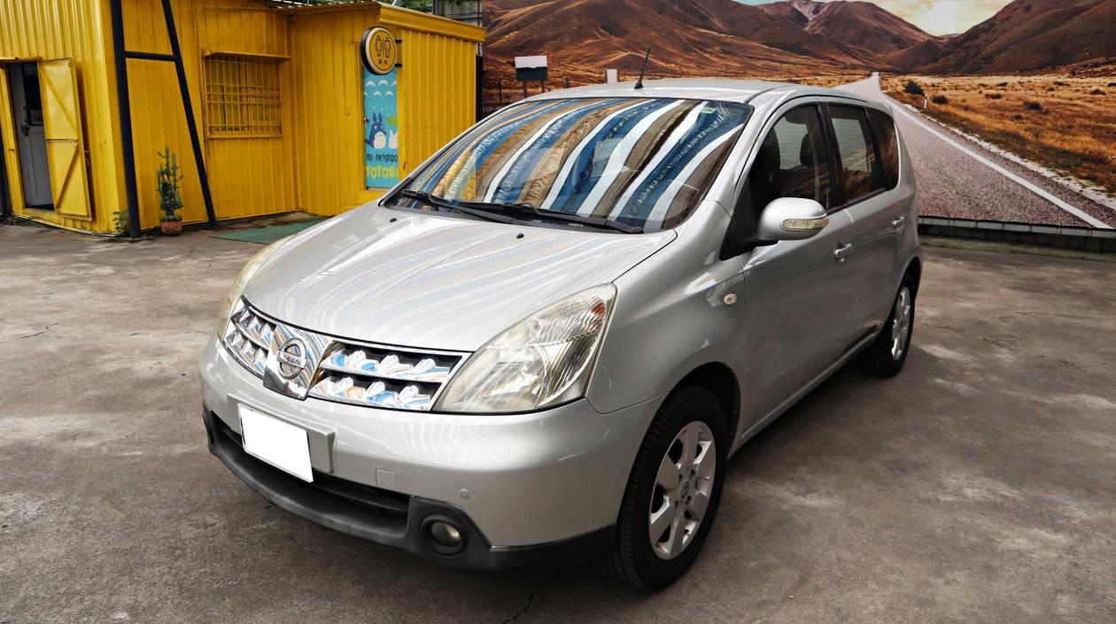 2010年 Nissan Livina 銀色 日產中古車