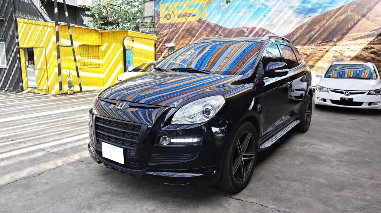2010年 Luxgen U7 黑色 納智捷中古車