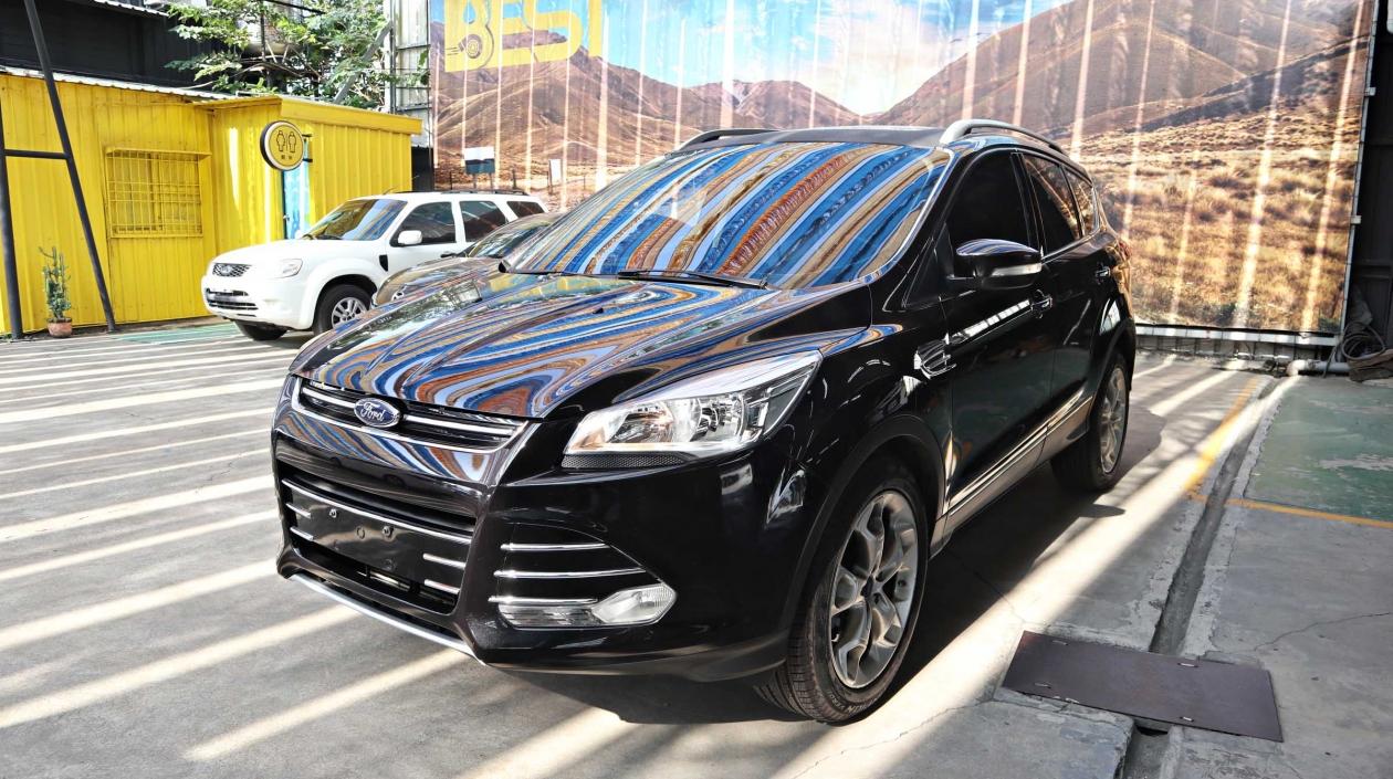 2014年 Ford Kuga 黑色 福特中古車