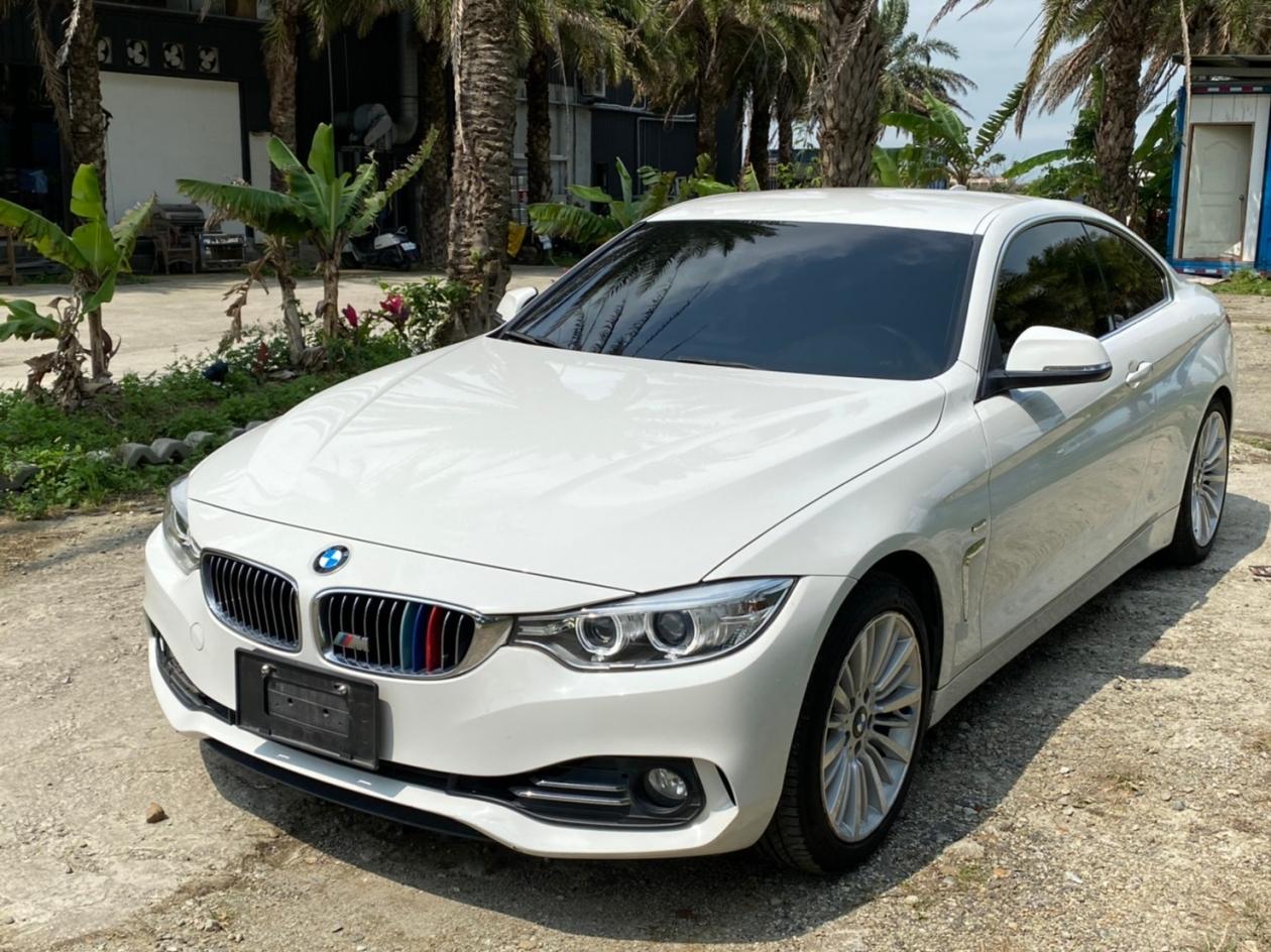 2014年 BMW 420i Coupe 雙門轎跑 通過第三方認證安全把關